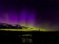Landscape 2nd Place - Auroras Over Hayden Valley - Kristine Branstetter