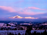 Scenic 2nd Place - Deborah Hammond - Snowcapped Mountain Sunset