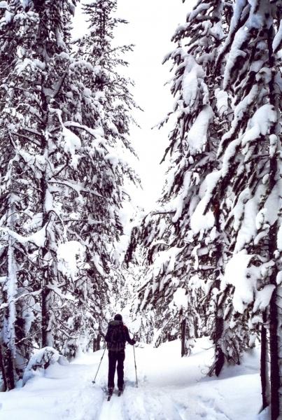 "People 1st - ""Skiing In Solitude"""