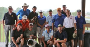 Posing post-round at the 2015 tournament these golfers can't wait for next year's 4 Person Scramble. Bring your clubs to YNP or rental clubs are available!