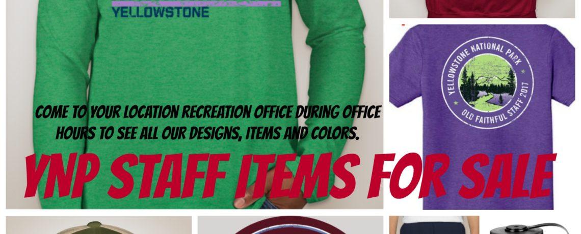 YNP Staff Gear for Sale