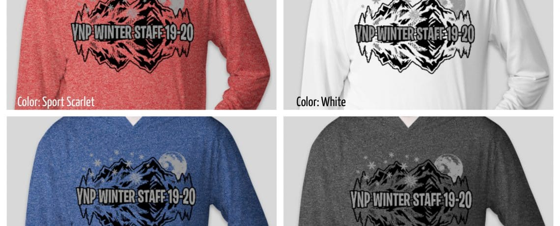 2019-20 Winter Staff Shirts