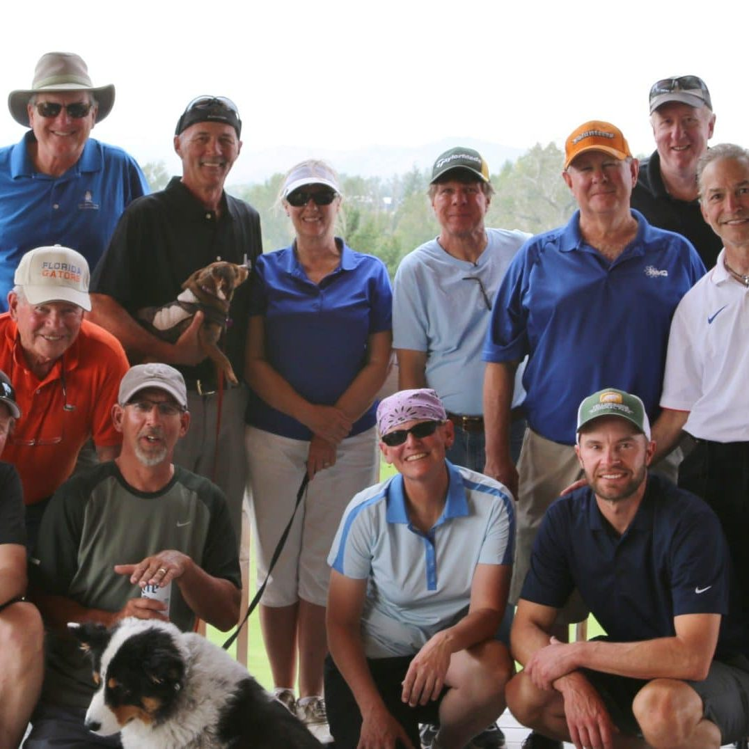 These golfers are already looking forward to the 2016 4 Person Scramble. Bring your clubs to YNP or rental clubs are available!