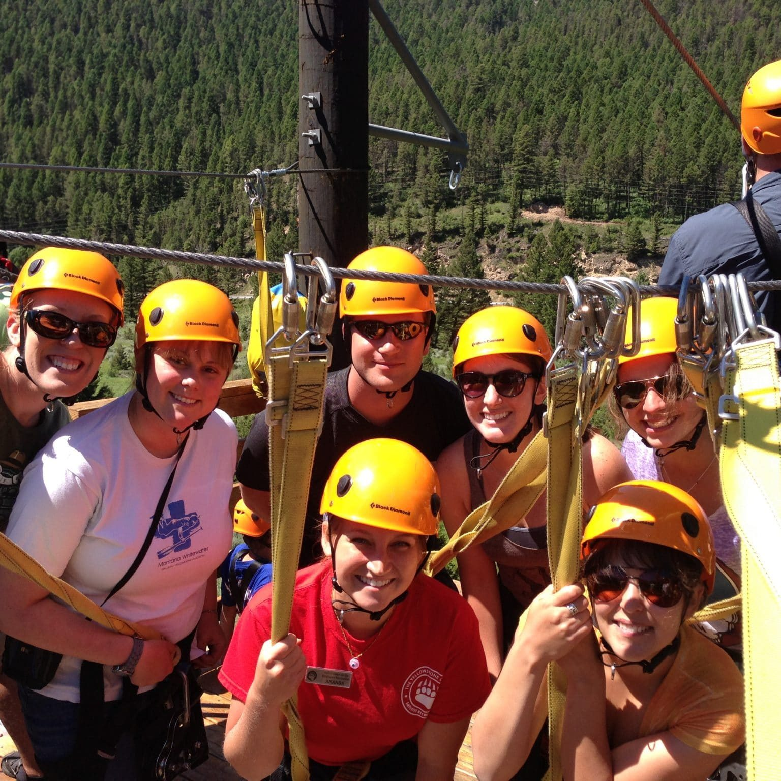Ziplining trips sling participants through Big Sky Country